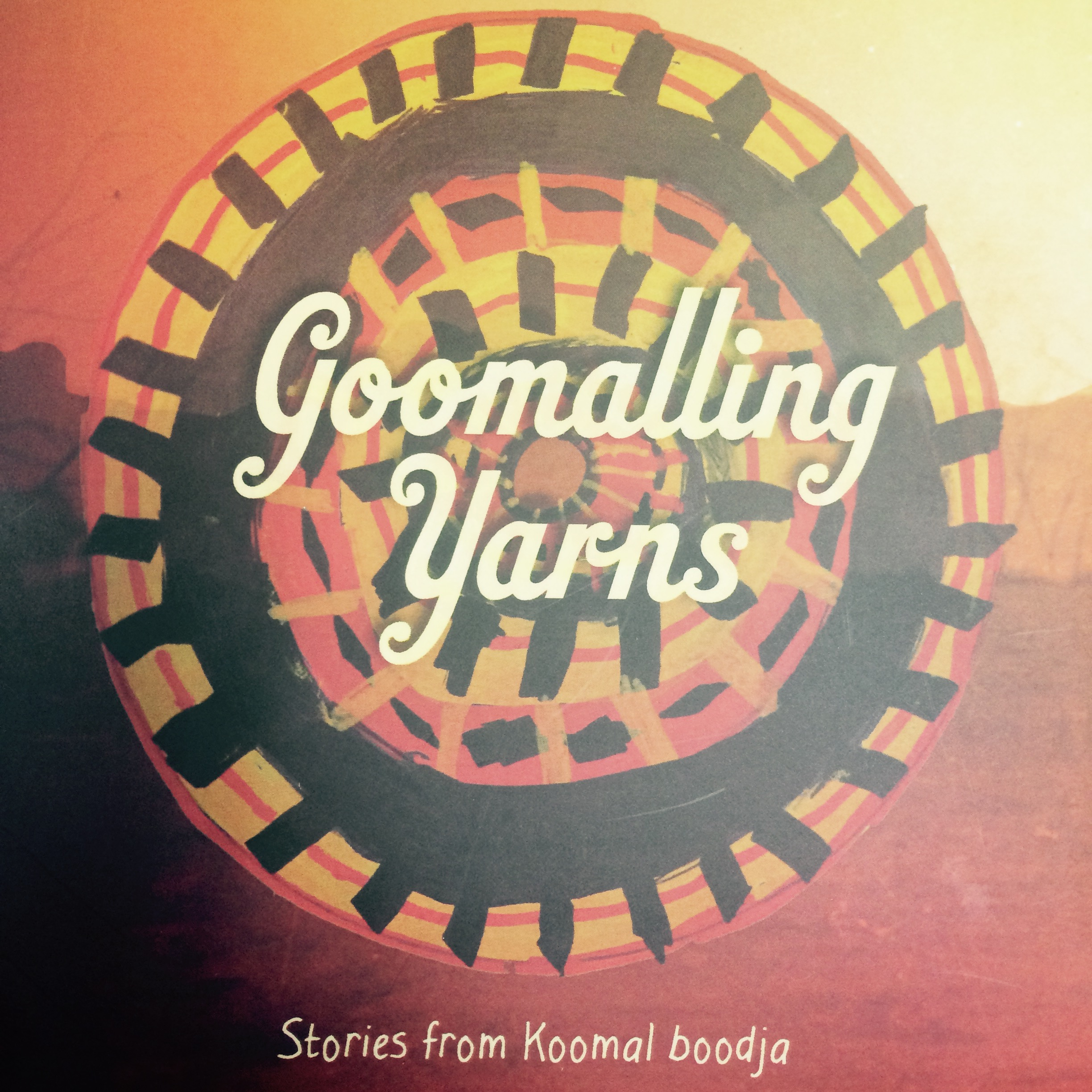 Goomalling Yarns cd cover