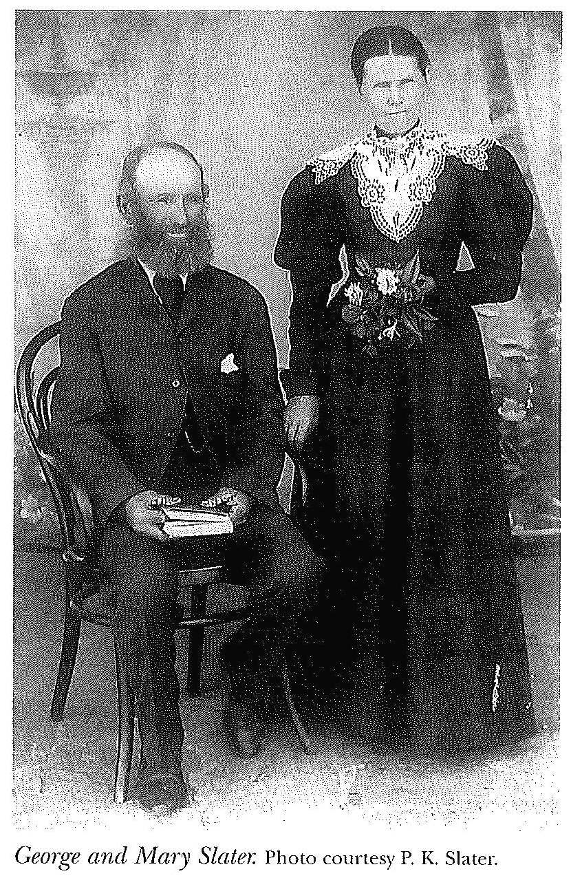 George and Mary Slater