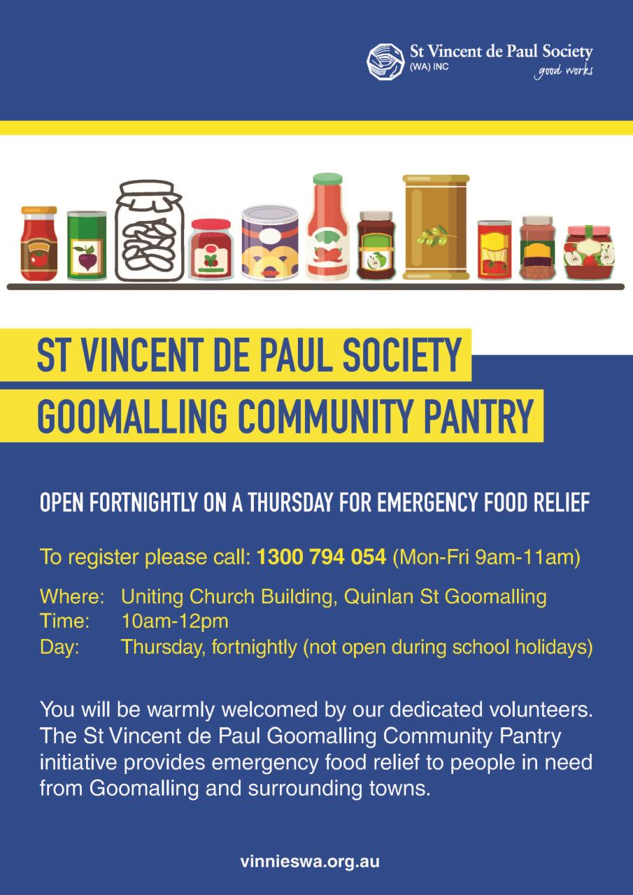 Goomalling Community Pantry