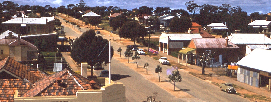 Forrest Street Goomalling in the 1900's