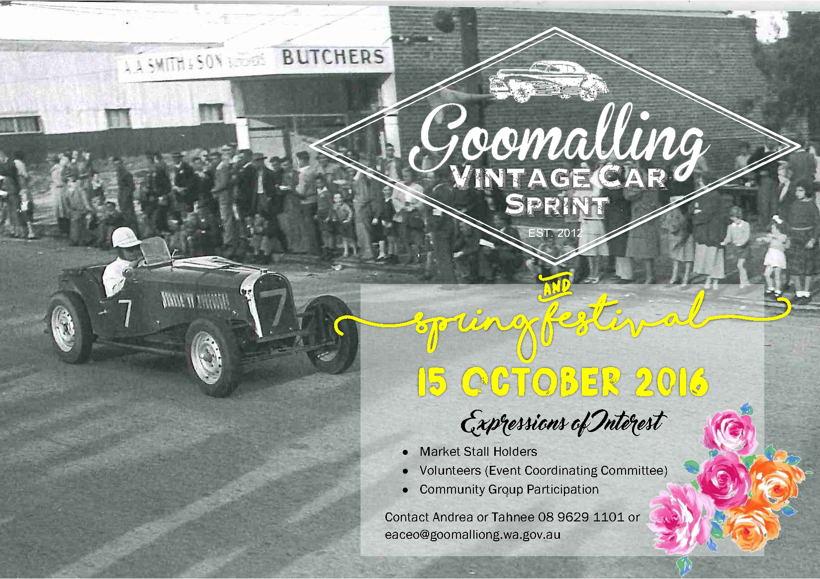 Vintage Car Rally Goomalling 15 October 2016