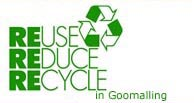 Reuse, Reduce, Recycle in Goomalling