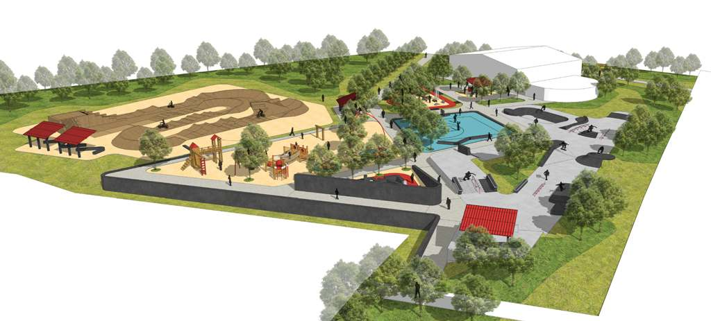 Concept plans for Goomalling Youth + Cultural Precinct
