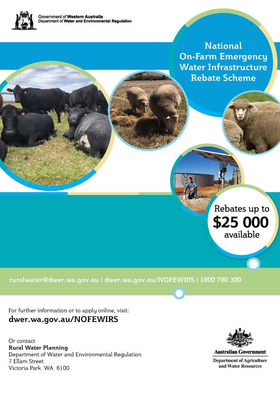 Rebates of up to $25,000 available for Livestock Farmers