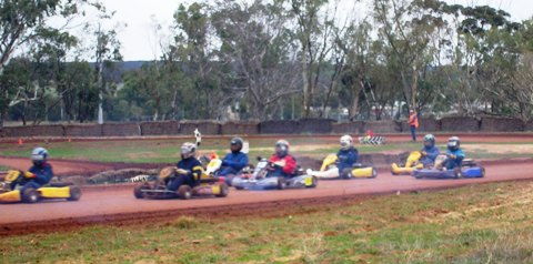Go-Kart Racing Days in Goomalling